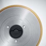 Messer V - glatt, Titan m. Zahnrad f. F20