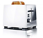 Graef TO81 - Toaster, 2-fach, Weiß