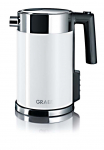 Graef WK701 - Wasserkocher,1.5L, Weiß, Temperaturwahl