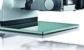 Bodenplatte Glas