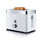 Graef TO61 - Toaster, 2-fach, Weiß