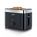 Graef TO62 - Toaster, 2-fach, Schwarz