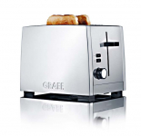 Graef TO80 - Toaster, 2-fach, Siber