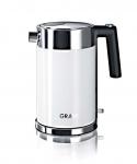 Graef WK61 - Wasserkocher, 1.5L, Weiss