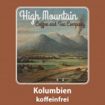 High Mountain Coffee Kolumbien Koffeinfrei 250g