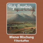 High Mountain Coffee Wiener Mischung Filter 500g