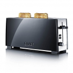 Graef TO92 - Toaster, 1-fach, lang, Schwarz