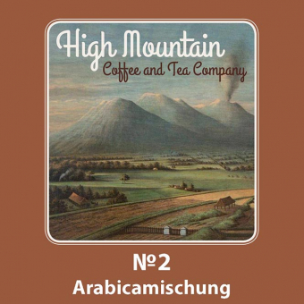 High Mountain Coffee No. 2 Arabicamischung 250g