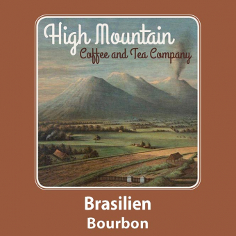High Mountain Coffee Brasilien Bourbon 250g