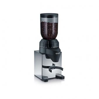 Graef CM820 - Kaffeemühle, Schwarz/Silber