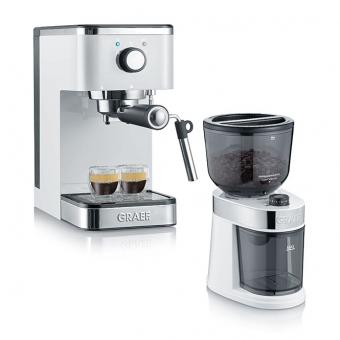 Graef ES401 Set, Salita Espressomaschine & Mühle