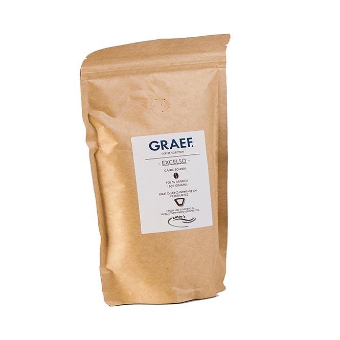 Graef Filterkaffee Excelso 500g