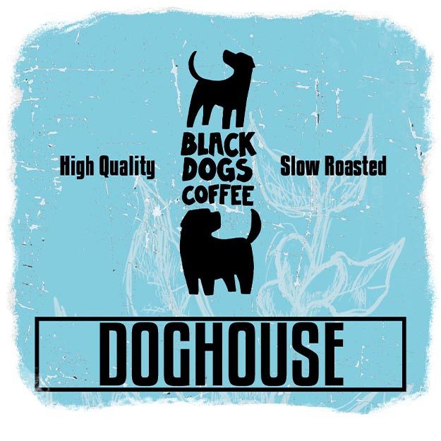Black Dogs Coffee Doghouse 1000g