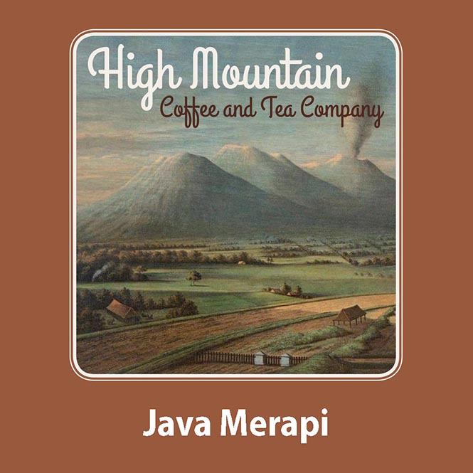 High Mountain Coffee Java Merapi 250g