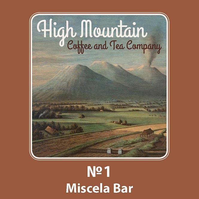 High Mountain Coffee No. 1 Miscela Bar 250g