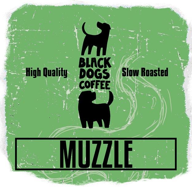 Black Dogs Coffee Muzzle Vietnam Robusta 250g