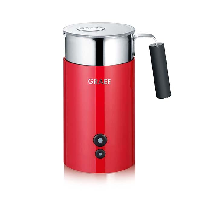 Graef MS703 -  Milchschäumer, Rot