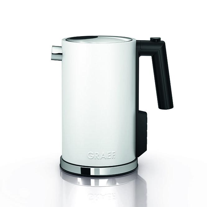 Graef WK901 - Wasserkocher,1.2L, Weiß,Temperatureinstellung